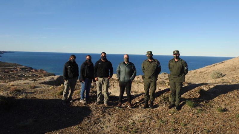El Municipio custodiará junto a Gendarmería Nacional del Área Natural Protegida Rocas Coloradas