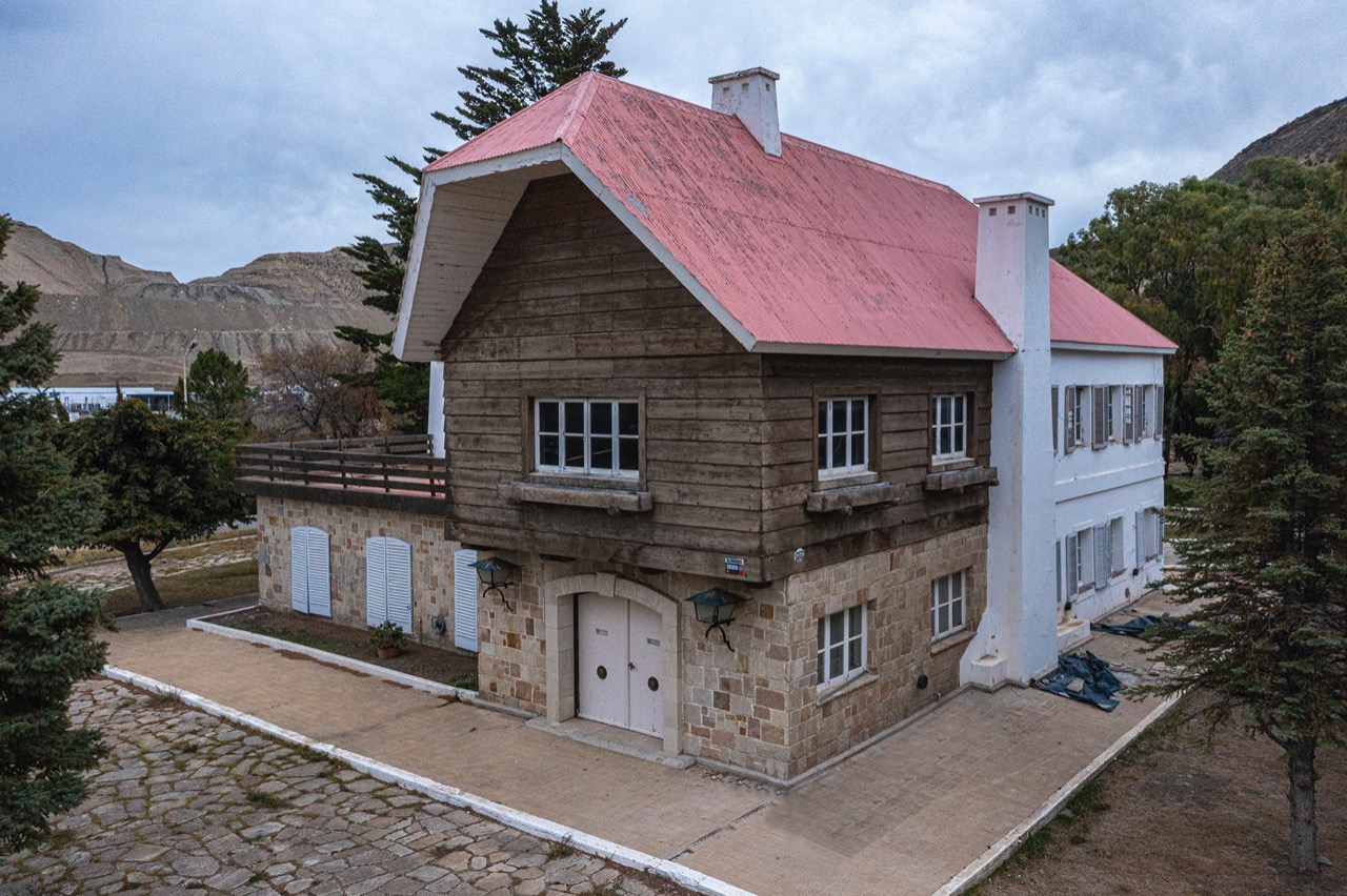 El Municipio y la Universidad trabajan por la preservación del Chalet Huergo